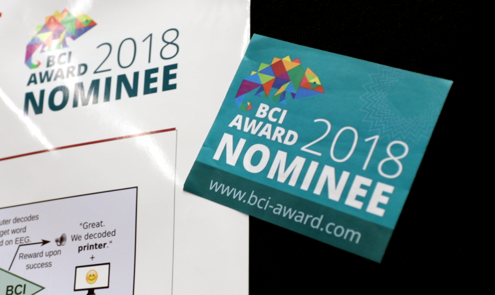 BCI Award 2018 Nominee Label