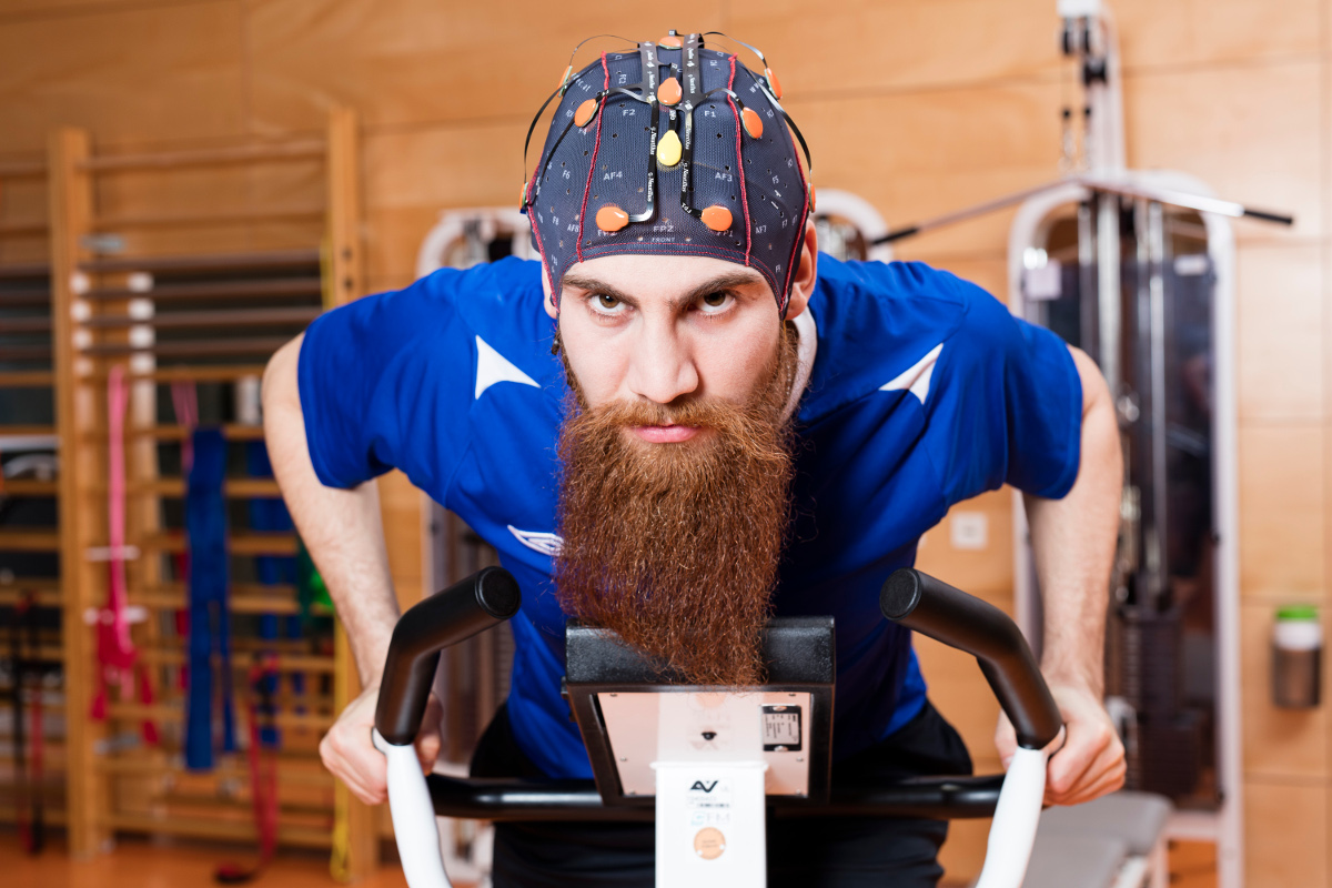 g.Nautilus wearable EEG headset for sports science and research
